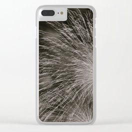 July 4th Celebrations in Seattle Black and White Fine Art Clear iPhone Case