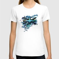union jack T-shirts featuring Union Jack by Boz Designs
