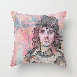 Rick Wright - Comfortably Numb Throw Pillow