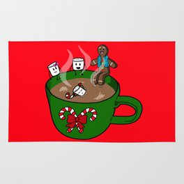 Relaxing Hot Cocoa Rug