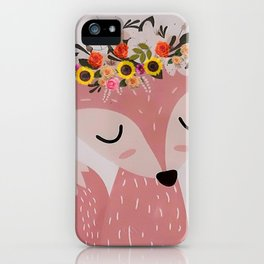 Easter Fox iPhone Case