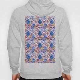 mosaic balinese ikat print mini Hoody