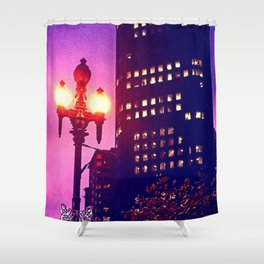 Financial district Shower Curtain