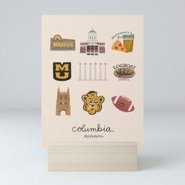 Columbia, Missouri Mini Art Print