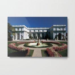Newport Mansions, Rhode Island - Rosecliff - Original Great Gatsby Mansion by Jeanpaul Ferro Metal Print