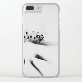 least abstract flower Clear iPhone Case