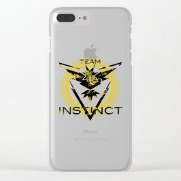 Team Instinct Clear iPhone Case