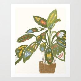 Scandinavian Plant Art Print
