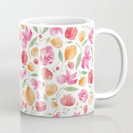 Japanese Summer Blooms Coffee Mug