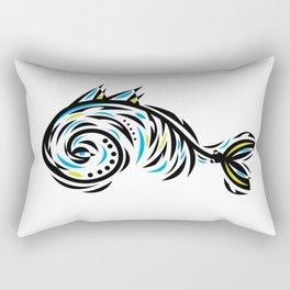 Bone Fishish 102 Rectangular Pillow