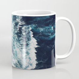 DARK BLUE OCEAN Coffee Mug