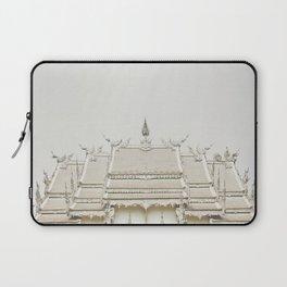 White temple, Thailand Laptop Sleeve