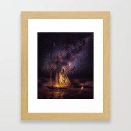 Night Fury Framed Art Print