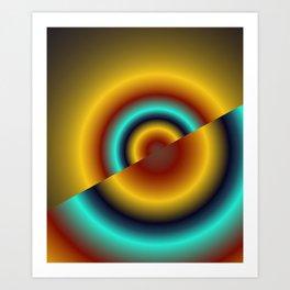 concentric -3- Kunstdrucke