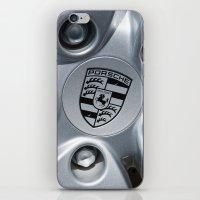 porsche iPhone & iPod Skins featuring Porsche Wheel by SShaw Photographic