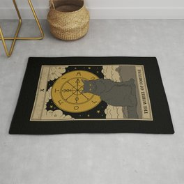 The Wheel of Fortune Rug