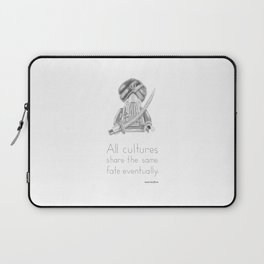 Sikh - All Cultures Share the Same Fate Eventually Laptop Sleeve