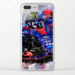 Sam Bird, Formula E Clear iPhone Case