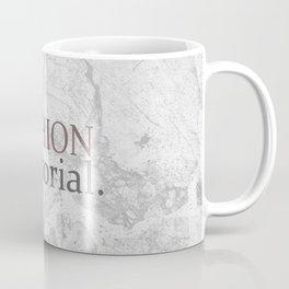 Fashion City: Fashion Editorial Coffee Mug