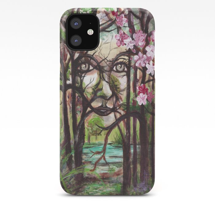 Spirit Fantasy Art Original Acrylic Painting Iphone Case By Artofgretchensmithcom