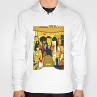 pulp fiction Hoodies featuring Pulp Fiction by Ale Giorgini