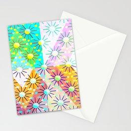 Diamond Molecular Stationery Cards