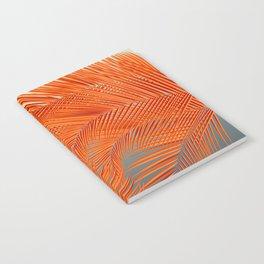 Palm Leaves, Orange Notebook