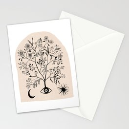 Let Me See All Your Branches Pastel Color Stationery Cards