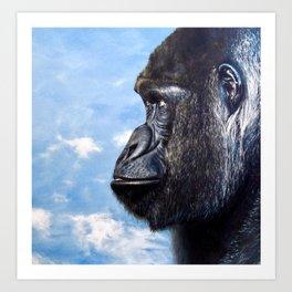 Congo Sky Art Print