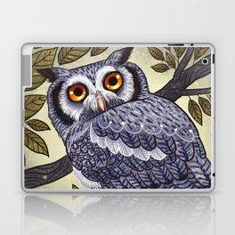 White Faced Owl Laptop & iPad Skin