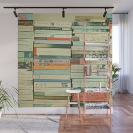 Bookworm Wall Mural