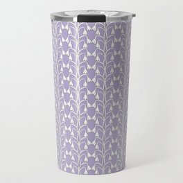 Snow Drops on Lavender Travel Mug