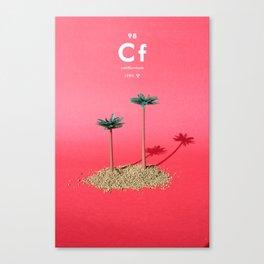 Californium Canvas Print