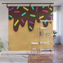 Chocolate Cakes Wall Mural