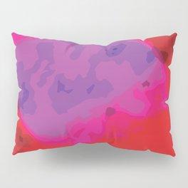 Hyper Pink Clouds Pillow Sham