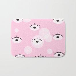 Eye, eye. Bath Mat