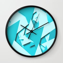 ZEPHER TEAL Wall Clock