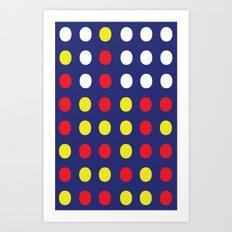 Connect 4. Art Print
