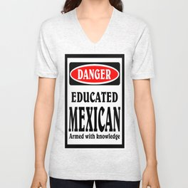 educated mexican Unisex V-Neck