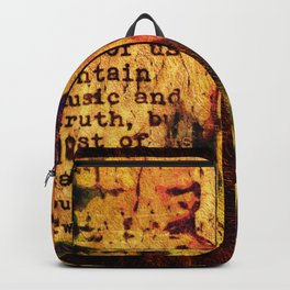 Twain Times Backpack