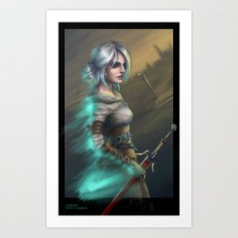 Lady of Worlds Art Print