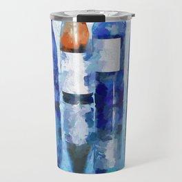 """Wine Reflection"" by Lena Owens Travel Mug"
