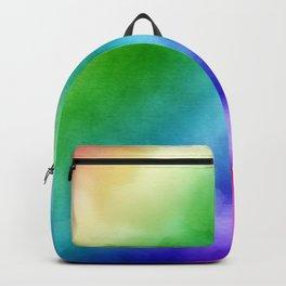 Rainbow Watercolors Backpack