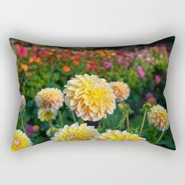 Happier Dahlias Rectangular Pillow