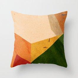 color blocks #3 Throw Pillow