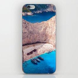 Shipwreck bay iPhone Skin