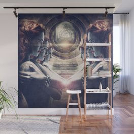 All-Seeing Guard Wall Mural