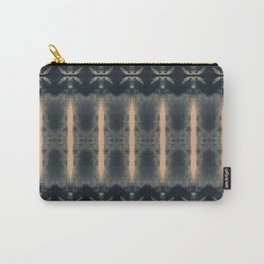 Art Deco Shibori Carry-All Pouch