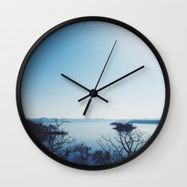 Broken Bow Wall Clock