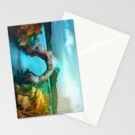-changing seasons- Stationery Cards